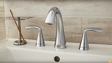 bathroom faucets video:the new fluent bathroom faucet collection by american standard VIAMNET