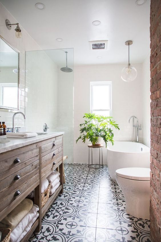 bathroom inspiration becki owens - pinterest top 10 - visit the blog to see ONINFUB