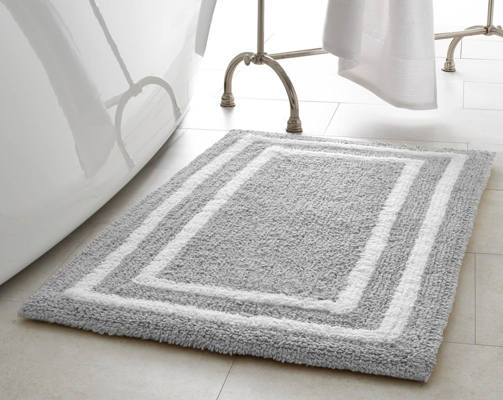 fluffy and rustic bathroom bath ideas rug rugs mats