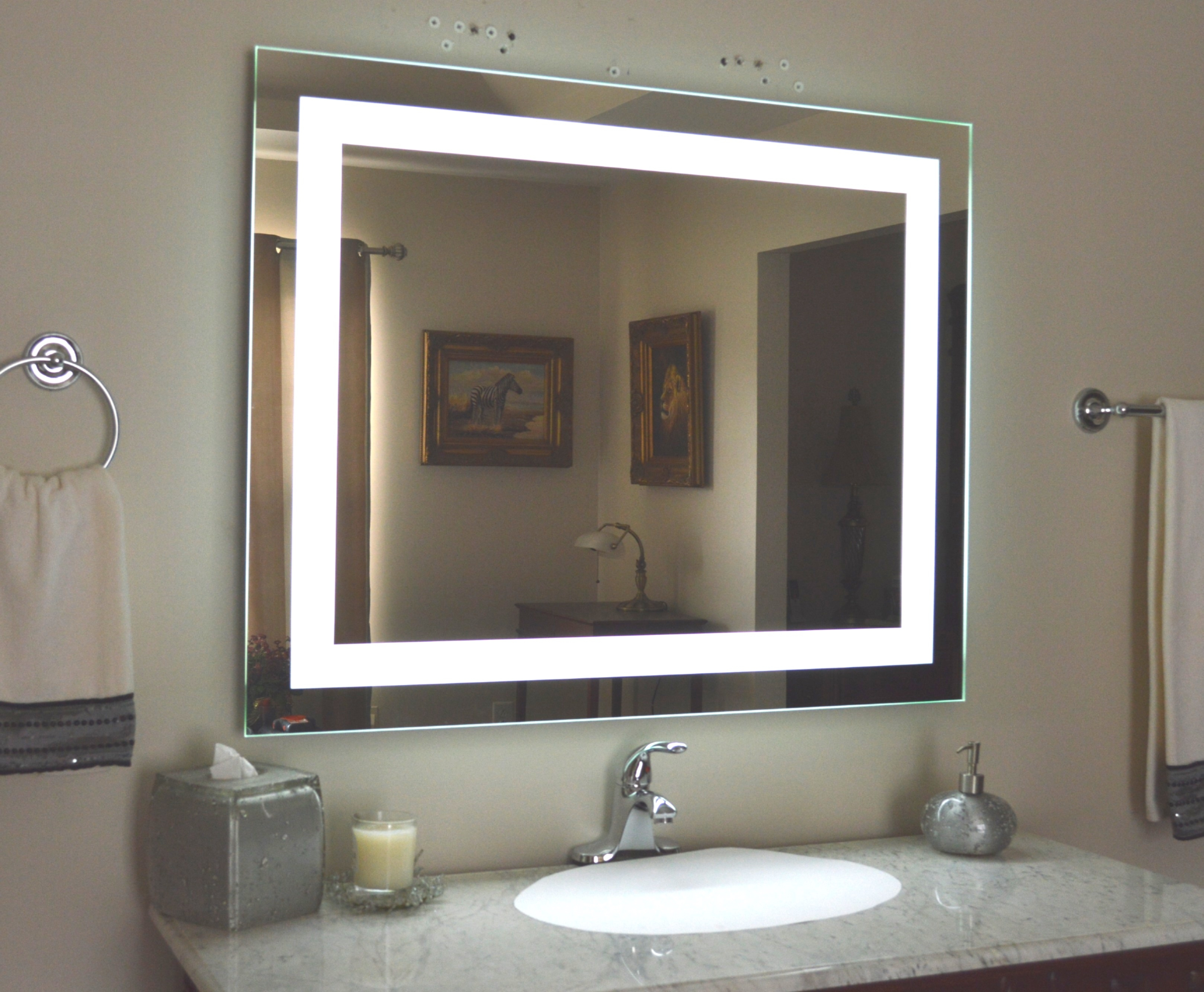 bathroom vanity mirrors with lights lighted vanity mirror VBOIJSK