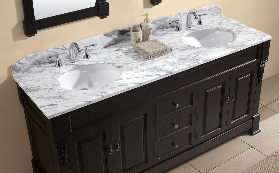 Bathroom Vanity Tops Impressive Double And 60 Top Sink 48 Xwlymep