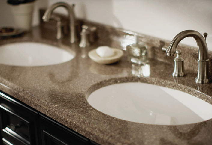 bathroom vanity tops project guide. how to choose a bathroom vanity top ... AFIEEBS