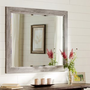 bathroom wall mirrors coastal weathered gray wall mirror FBTFXJC