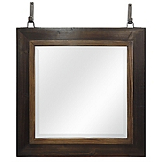 bathroom wall mirrors image of sierra wall mirror in weathered wood XWTHHRO