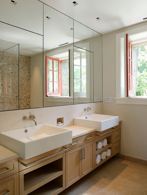 bathroom wall mirrors types of bathroom mirrors - goodworksfurniture HXYEWFD