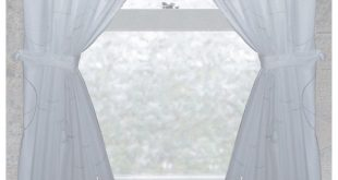 bathroom window curtains carnation home fashions ava fabric window curtain UULNAHP