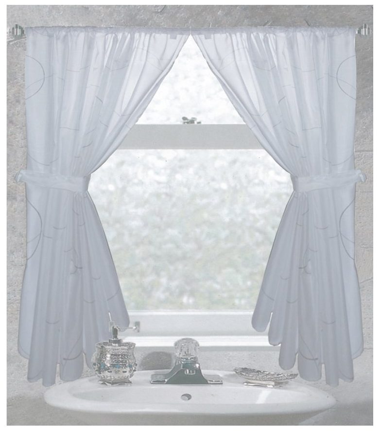Ways to choose the best bathroom window curtains