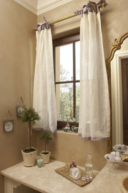 bathroom window curtains creative curtain designs for windows in any rooms: tiny bathroom interior GFCMZVA