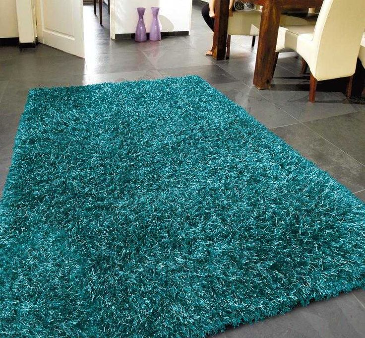 Teal Rugs with Variations Make Your Place Cool