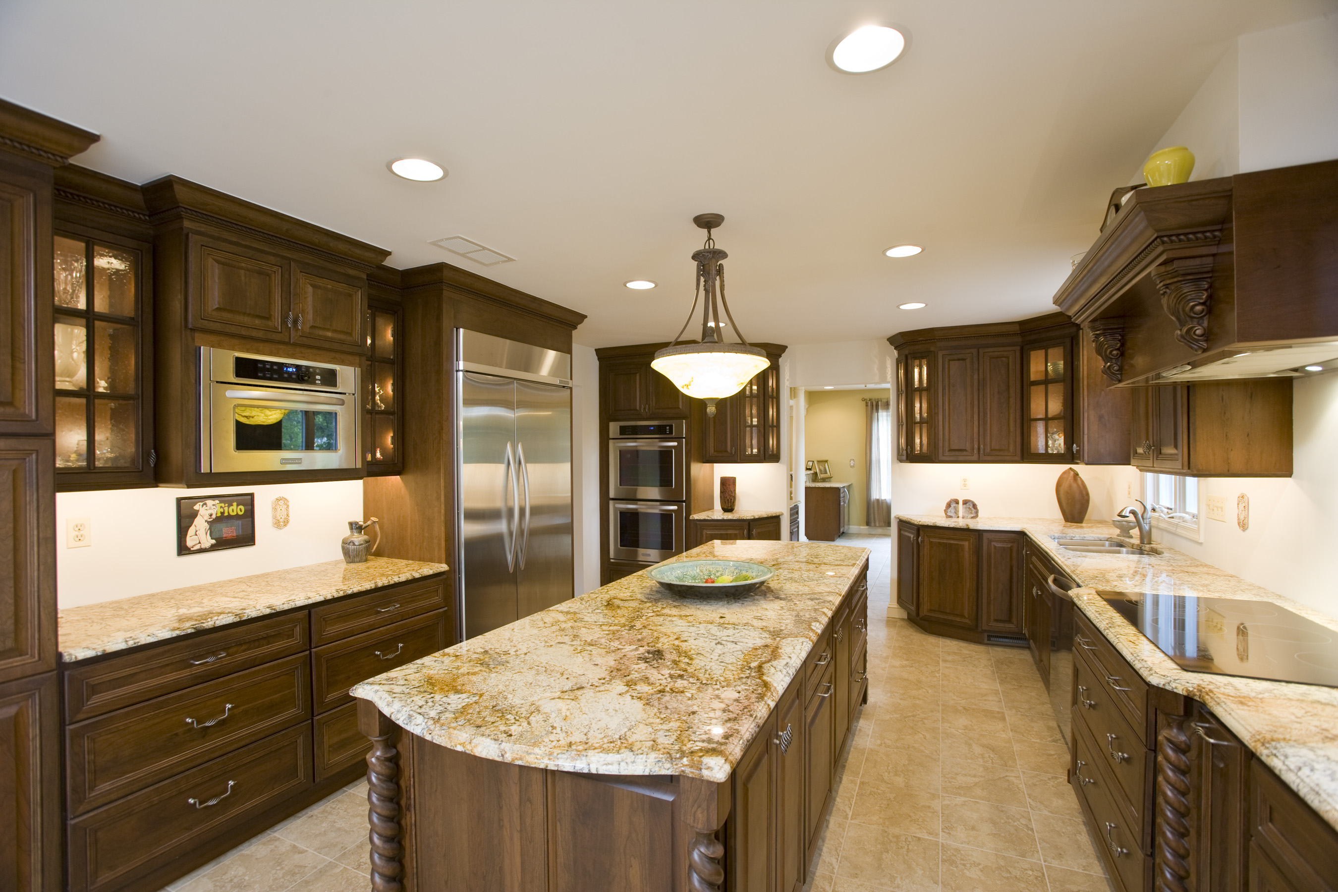 Top quality granite kitchen countertops
