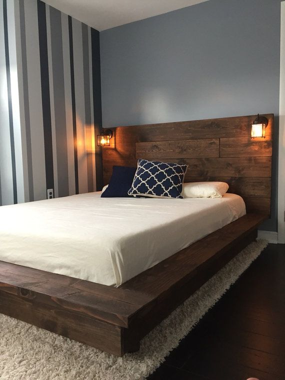 bed designs sale 15% off floating wood platform bed frame by knotsandbiscuits PGWVOPF