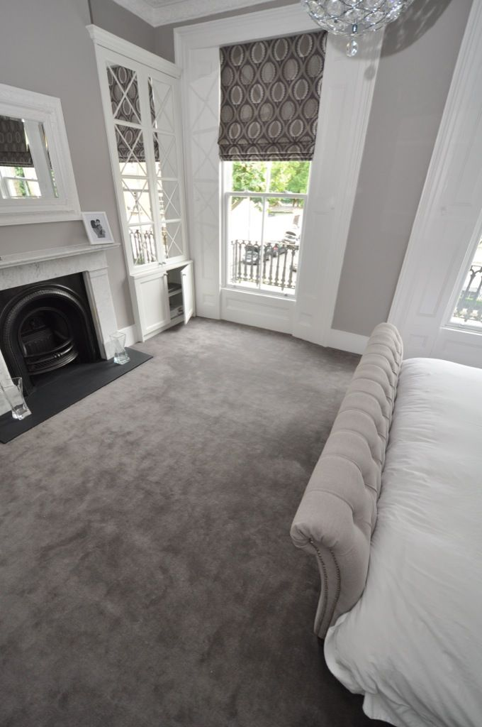 bedroom carpets elegant cream and grey styled bedroom. carpet by bowloom ltd. XVPRDIN