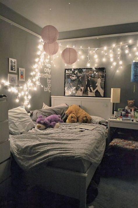 bedroom decor ideas 23 cute teen room decor ideas for girls WKLBYSK