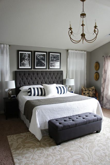 Tips For Small Bedroom Décor Ideas Goodworksfurniture - Bed Styling Ideas