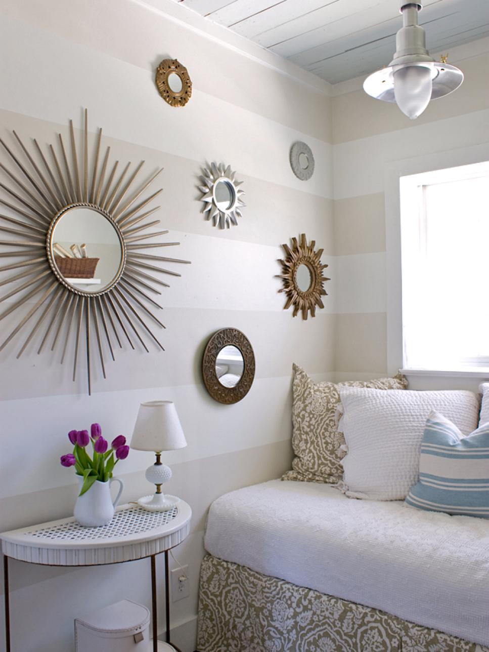 bedroom decorations 9 tiny yet beautiful bedrooms | hgtv PLWANEV
