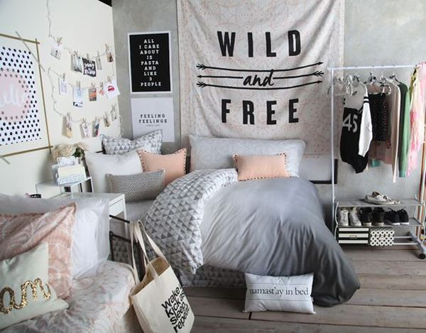 bedroom ideas for teenage girls black and white bedroom ideas for teens | posts related to ten MJGJQAO