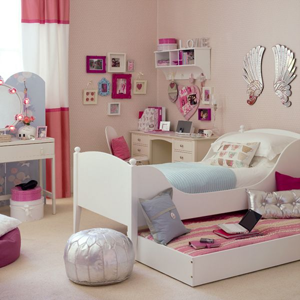 bedroom ideas for teenage girls ... designs view ... PWMKGHJ