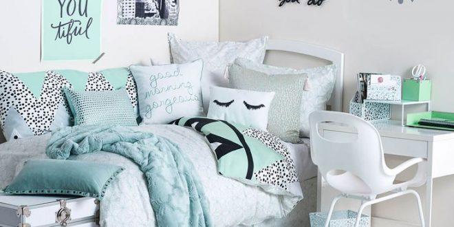 bedroom ideas for teenage girls uptown girl room | available on dormify.com | dorm bedding loves | UJGNQRI