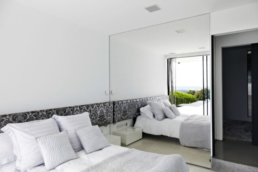 bedroom mirrors ... mirrored wall 900x600 bedroom mirror designs that reflect personality ZTOUCPV