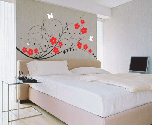 bedroom wall designs modern wallpaper bedroom design ideas YNEWWXW