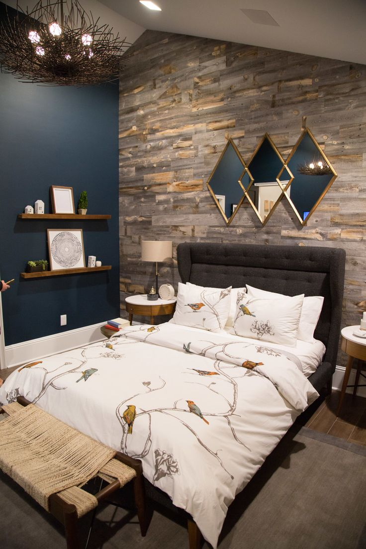 bedroom wall designs must-see: pardee homesu0027 responsive home project for millennial homebuyers!  master bedroom, YPIDMNH