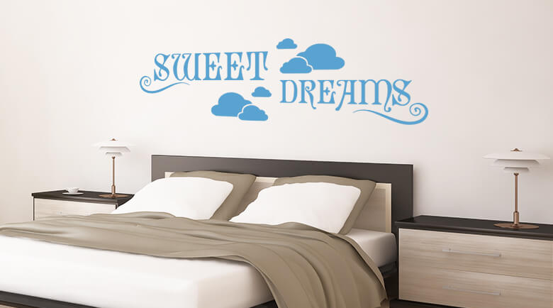bedroom wall stickers wall stickers bedroom shop - wall-art.com JTIUKZV