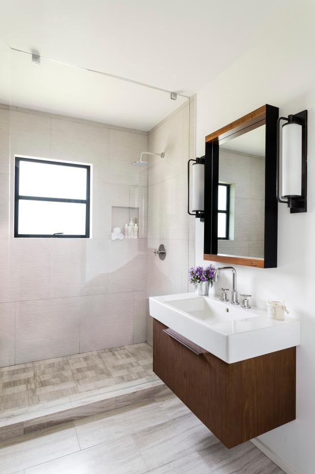 before-and-after bathroom remodels on a budget | hgtv NRXVUOQ