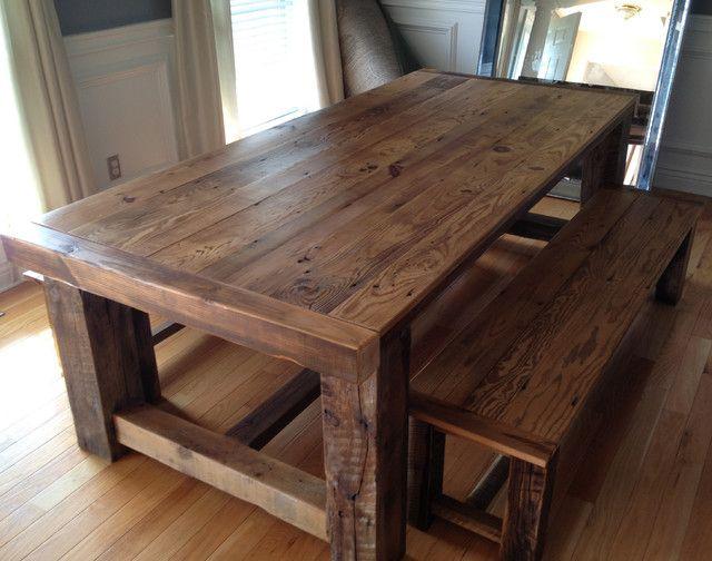 best 25 barnwood dining table ideas on pinterest barn wood barnwood dining PEABZWG