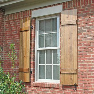 Give Your Home An Elegant Look With Wood Shutters Goodworksfurniture