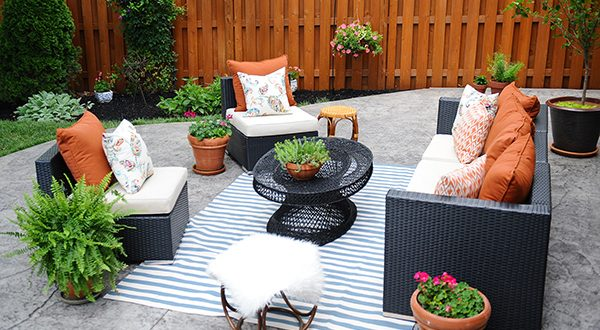 best decorating patio ideas patio decorating ideas a modern chic patio  refresh ZNRBRXI