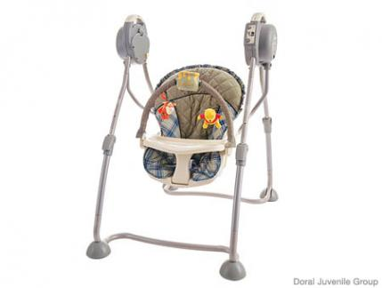 best steals and splurges: baby swings CFUYVHN