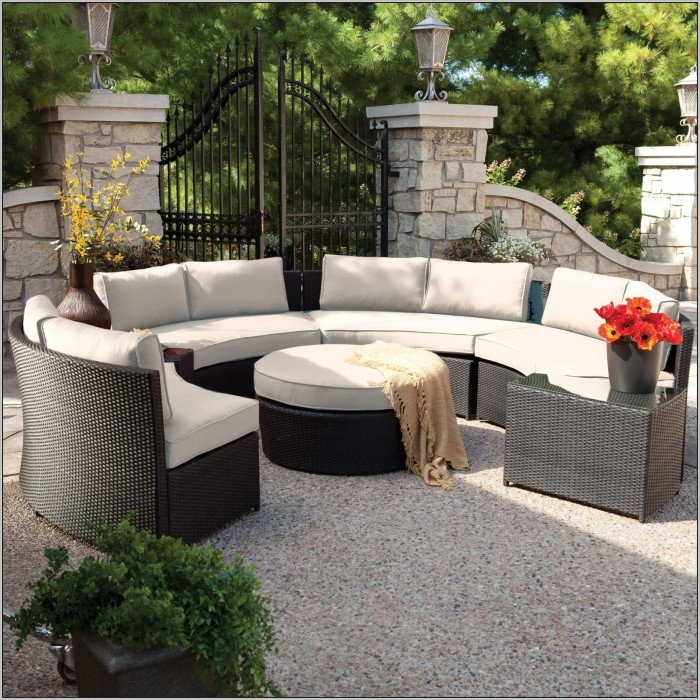big lots outdoor furnitures ... cream and black round modern rattan big lots patio furniture sale PUIHGTO
