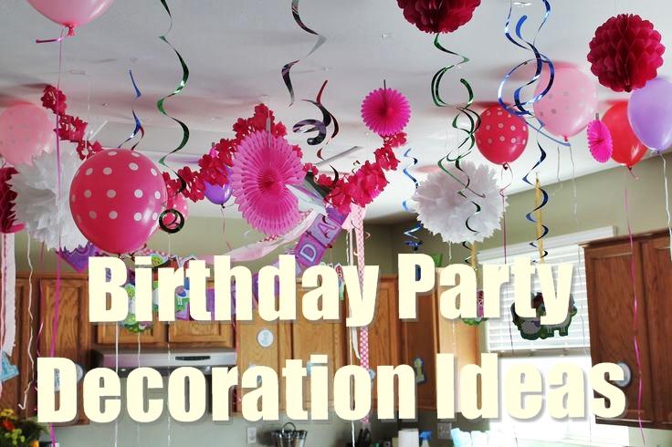 birthday party decoration ideas GXLDOYP