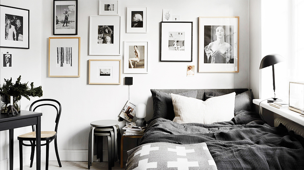 black and white bedroom ideas 35 best black and white decor ideas - black and white design JWSMUPB