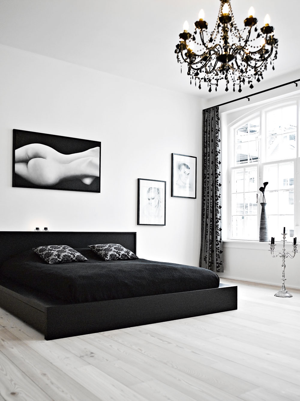 black and white bedroom ideas 40 beautiful black u0026 white bedroom designs PUUPDKS