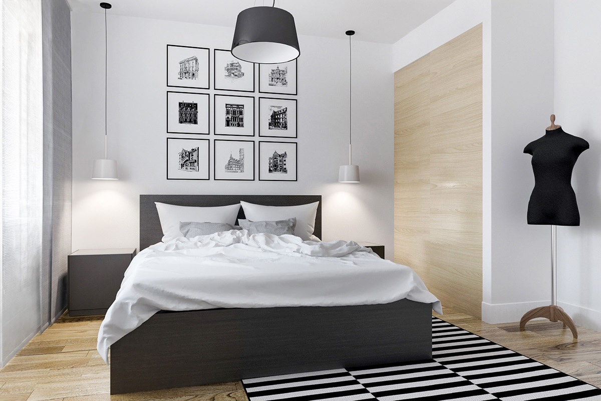 black and white bedroom ideas 40 beautiful black u0026 white bedroom designs VHBGCBX