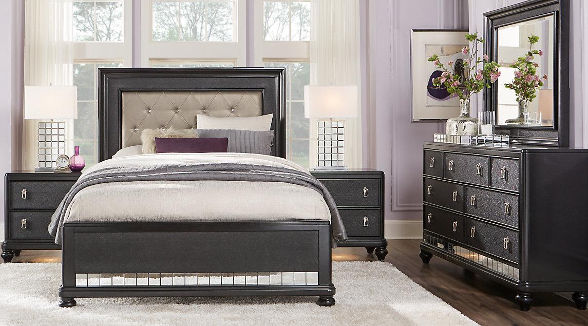 black bedroom sets shop now RPNMWFJ