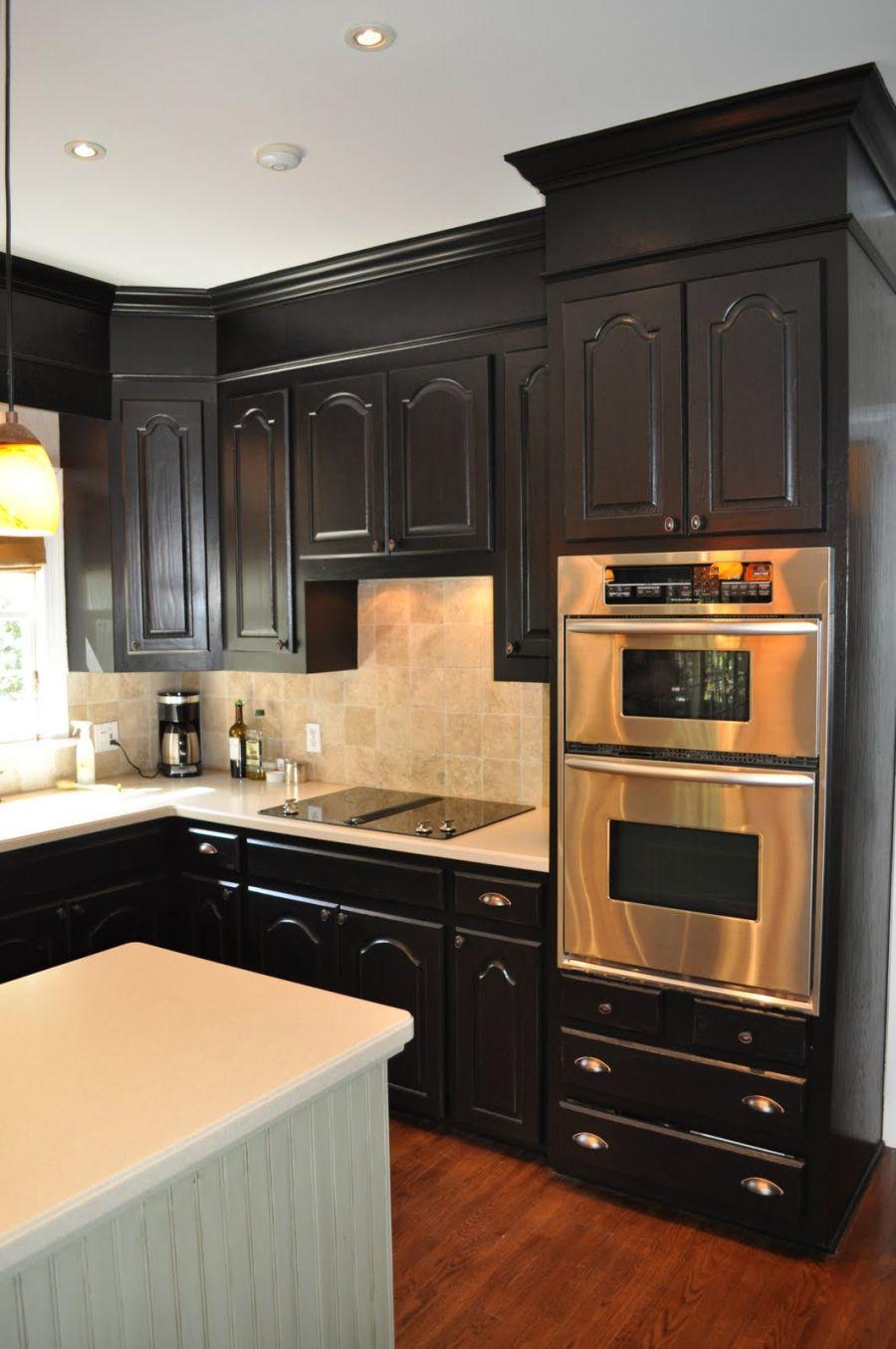 black kitchen cabinets modern steel kitchen cabinets with black design ORBJPXZ