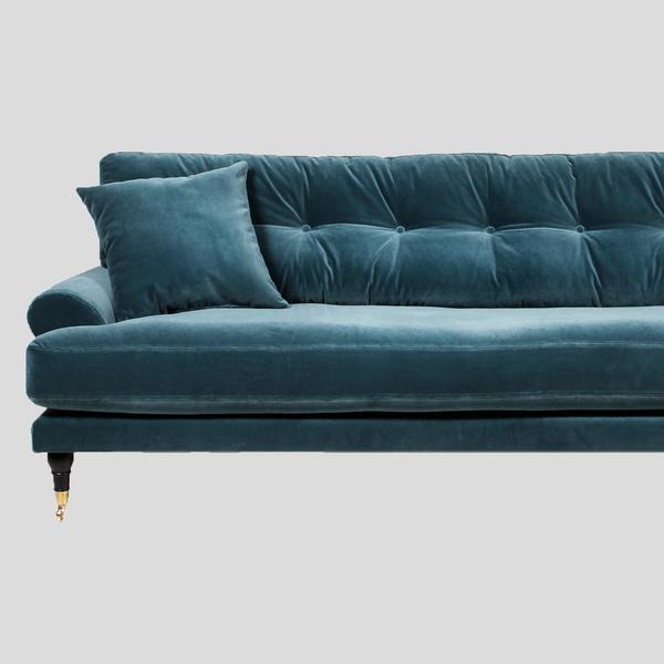 blanca petrol velvet sofa DOGCTEG