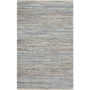 blue rug gilchrist natural/blue area rug FIQPIMS