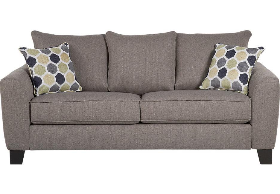 bonita springs gray sleeper sofa - sleeper sofas (gray) TYHNRDF