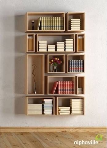 bookshelf design 45 diy bookshelves: home project ideas that work shadow boxes on a wall ZVXMKDQ