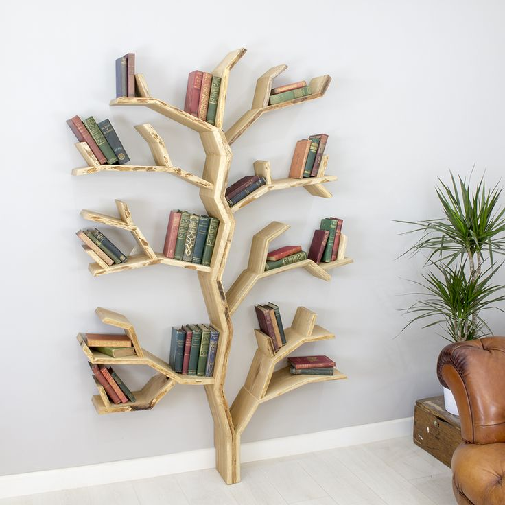 bookshelf design the elm tree shelf is our newest tree design. full bodied from the UODSICK