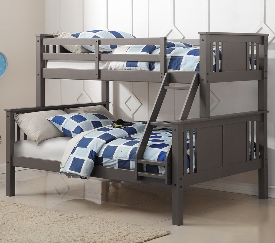 boys beds princeton twin over full slat bed WIAGHNG