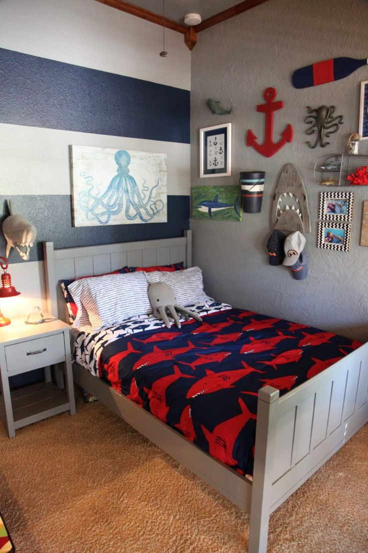 boys rooms shark themed boyu0027s room MJLEURT