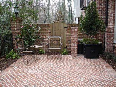 brick patio 15 excellent diy backyard decoration u0026 outside redecorating plans 8 flower  pot TNNFAWB