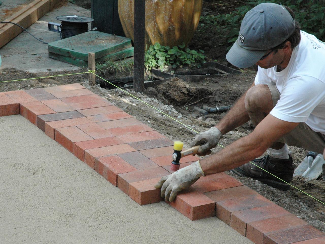 brick patio step 4 KWDFIUF