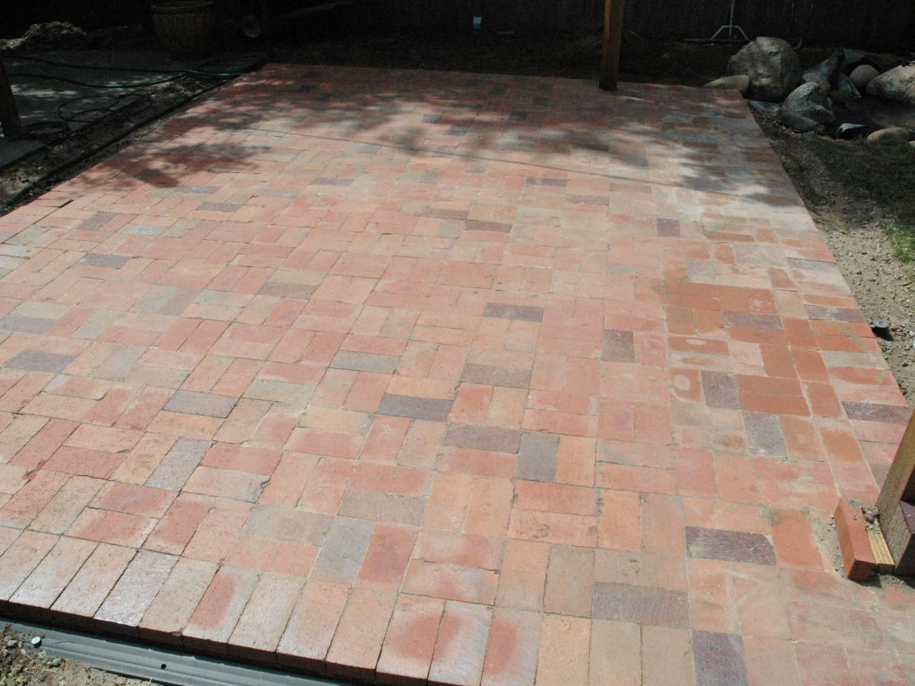 brick patio step 5 CCPLKIB