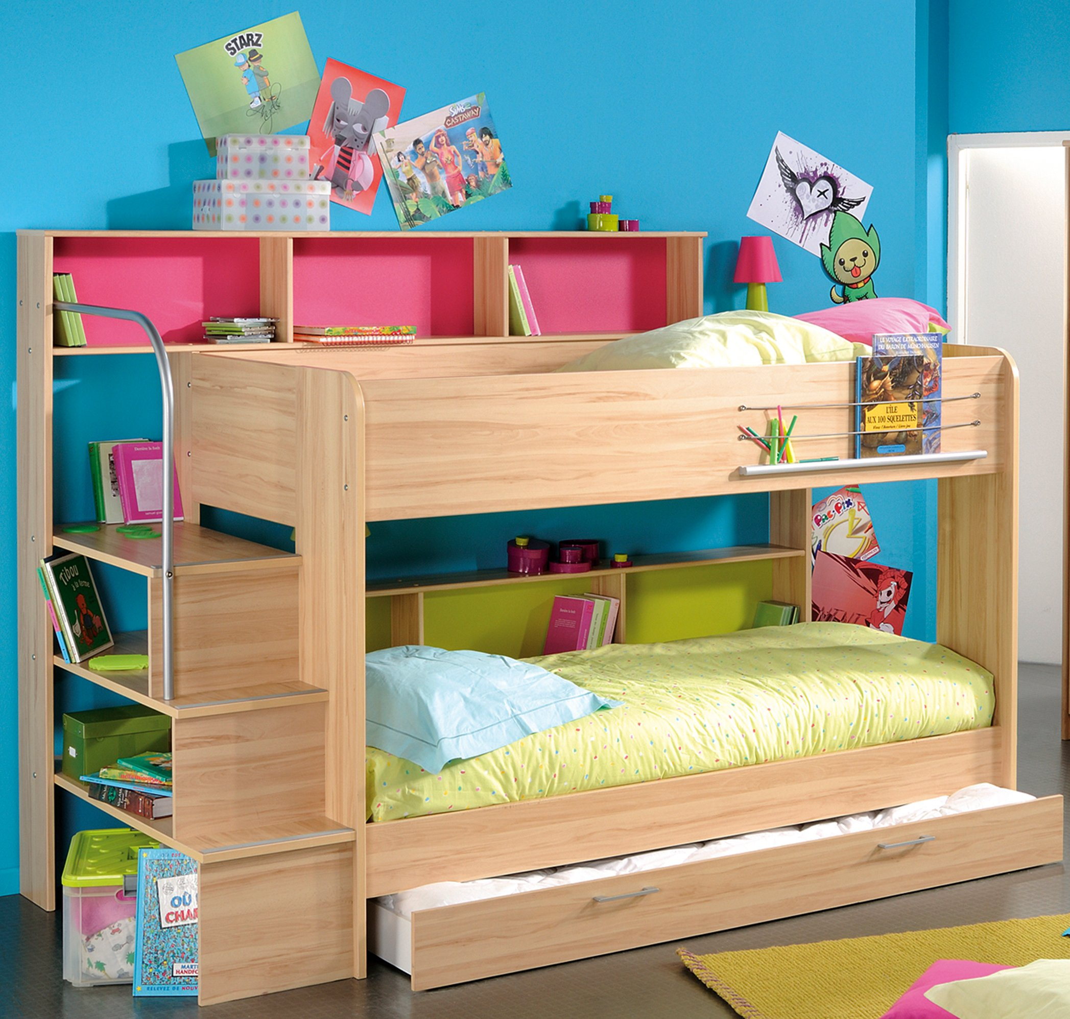 bunk beds for kids girls KZFZSPV