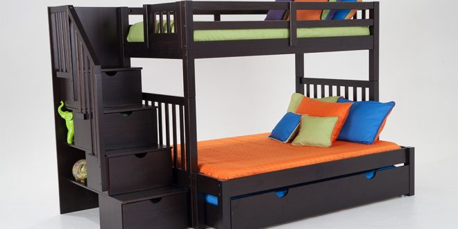 bunk beds for kids keystone stairway twin/full bunk bed with perfection innerspring mattresses  and storage/trundle unit HNPRLTI